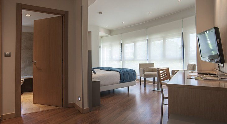 Of the Sercotel Codina Hotel's double rooms, 25 are ...